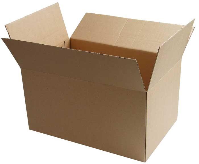 Новогодний домик из коробок своими руками